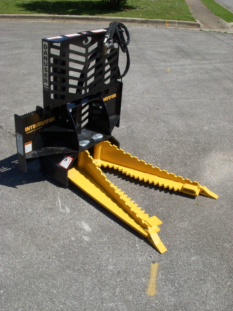 Danuser Intimidator Tree And Post Puller Skid Steer
