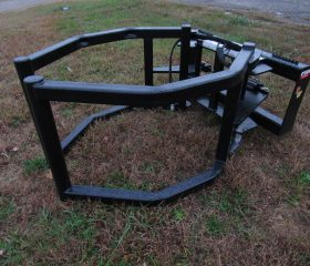 Bale Squeeze Attachment for Skid Steer Tractor Loader
