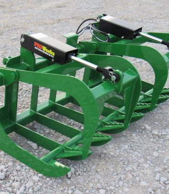 Dual Cylinder Root Grapples