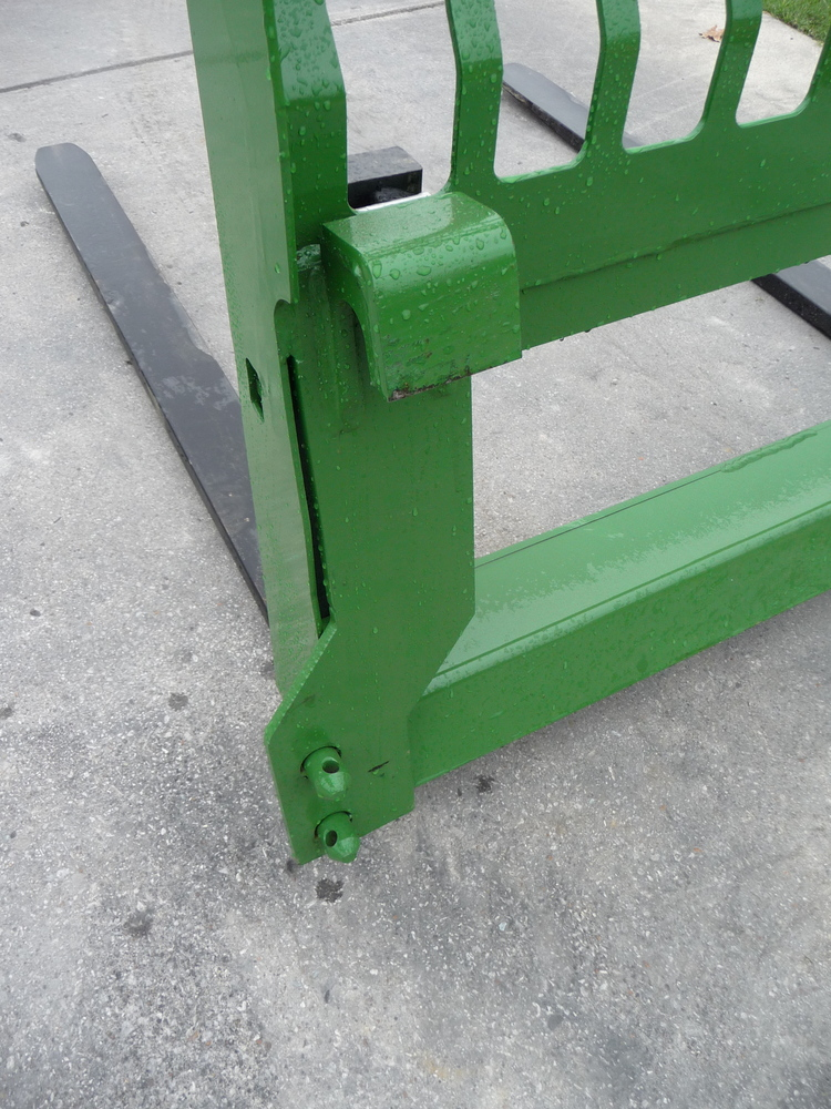 Jd Tractor Forks : John deere tractor loader attachment extreme quot