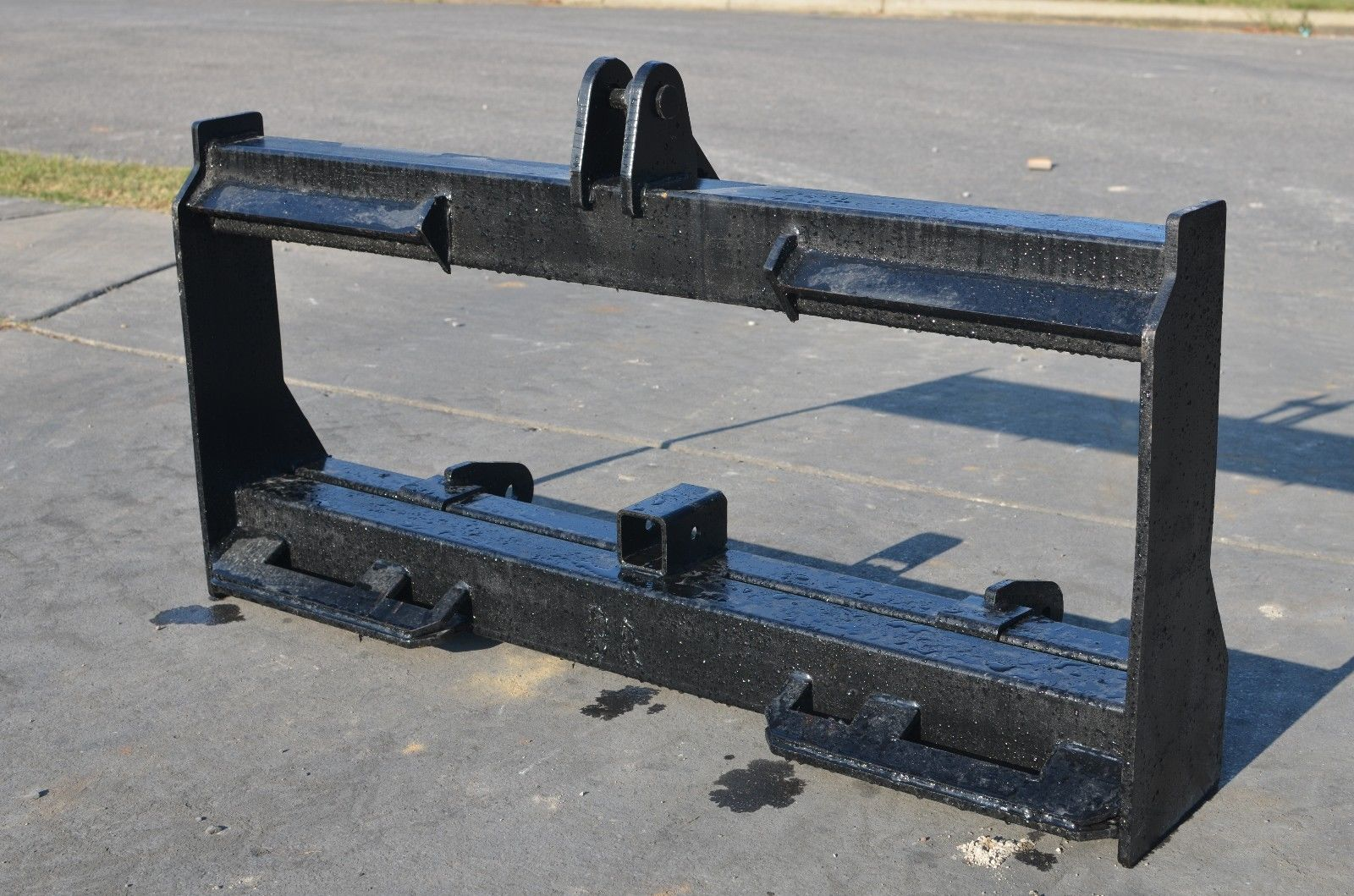 3 Point Hitch Ripper : Skid steer to point hitch adapter conversion