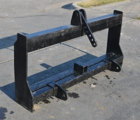 Skid Steer to 3 Point Hitch Adapter Conversion