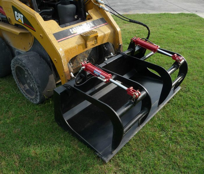 66 inch Solid Bottom Bucket Grapple