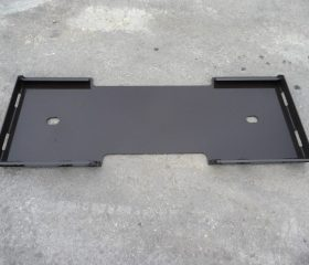 Universal Skid Steer Quick Tach Weld On Blank Plate - Free Shipping