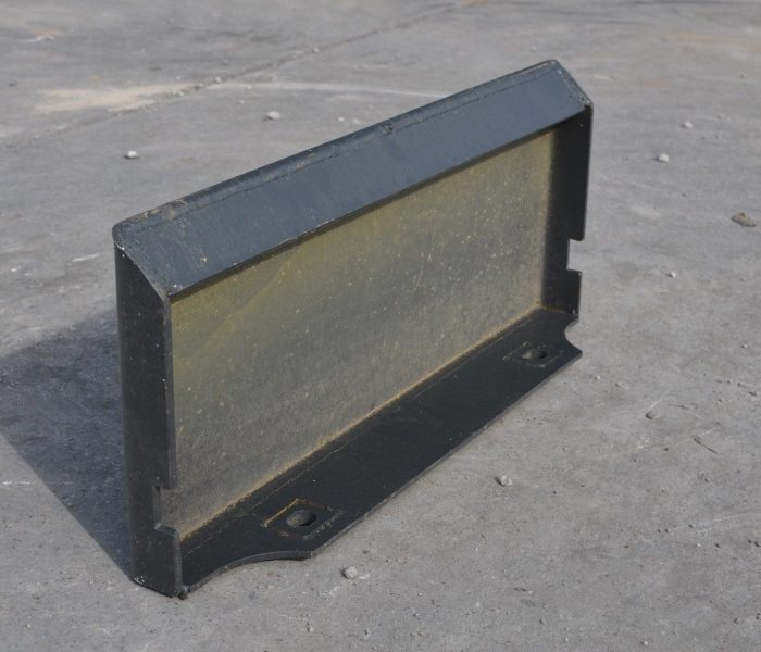 Toro Dingo Mini Skid Steer Weld-On Blank Plate