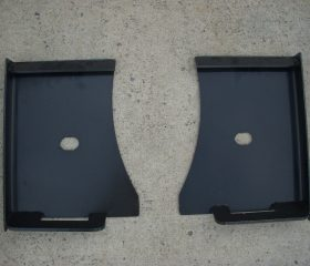 Universal Skid Steer Quick Tach Weld Mount Brackets - Free Shipping