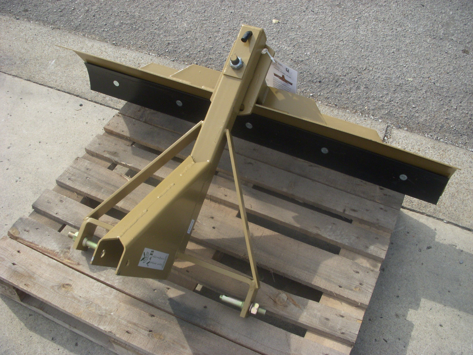 5 A Amp B Equipment Economy Grader Blade Skid Steer