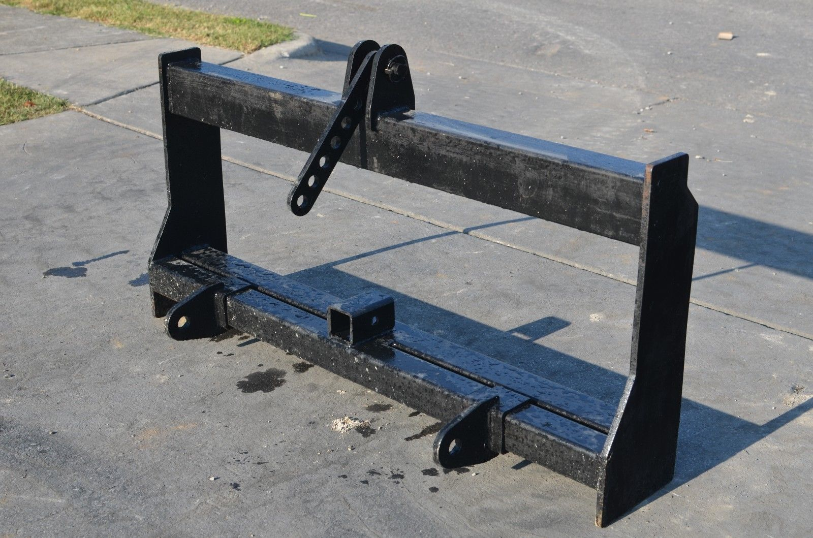 Skid Steer To 3 Point Hitch Adapter Conversion Skid