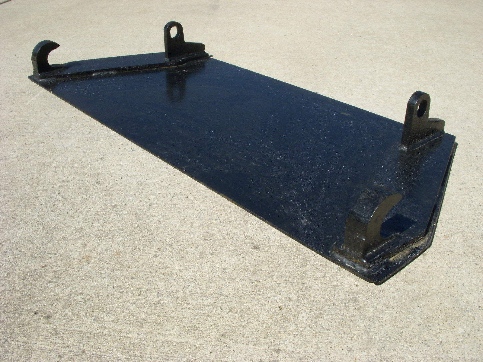 Global Quicke Euro Tractor Loader Blank Mount Plate Free