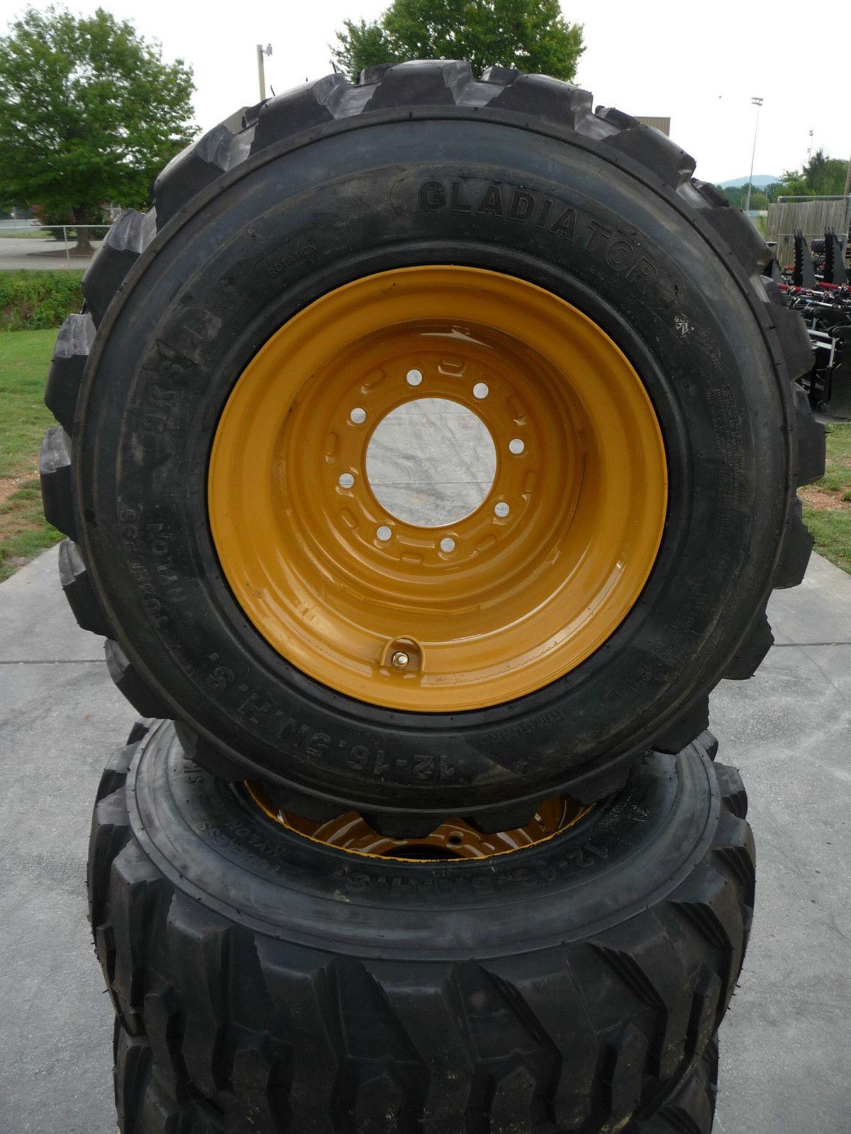 Wheels And Tires Solitek 12 16 5 Tubeless Skid Steer