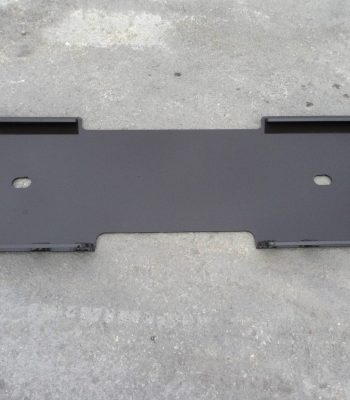 1/4 inch Thick Skid Steer Mount Weld Plate