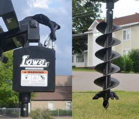 Lowe 750 Classic Round Auger with 12″ Bit