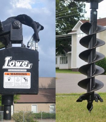 Lowe 750 Classic Round Auger with 12 inch Bit