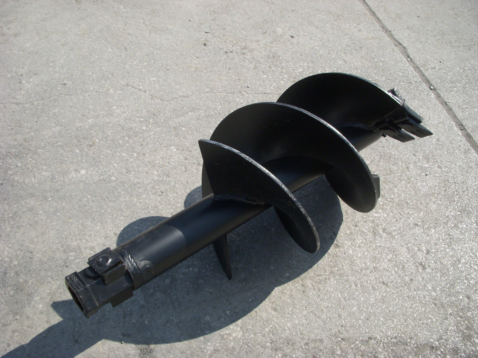 manual post hole auger home depot