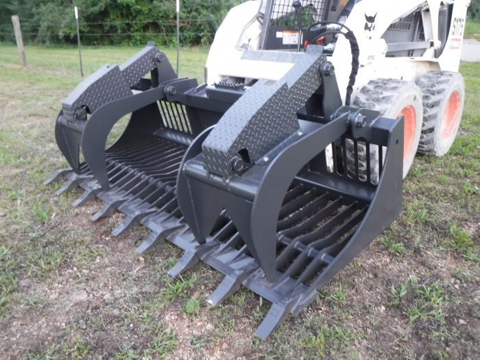 84 inch Rock Bucket Grapple with teeth