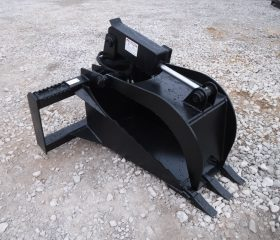 Heavy Duty Stump Bucket Grapple