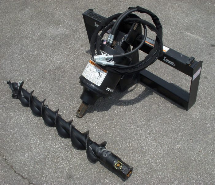Lowe BP210 Hex Auger with 6 inch Bit