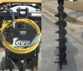 Lowe 1200 Classic Auger with 9″ Bit