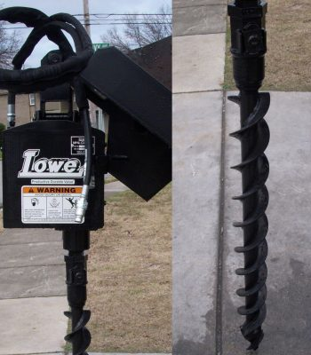 Lowe 750 Hex Classic Auger with 4 inch Bit
