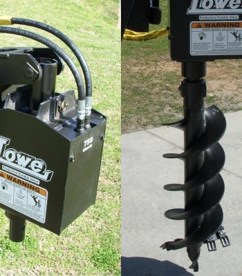Lowe 750 Auger Drive with 12 inch Bit