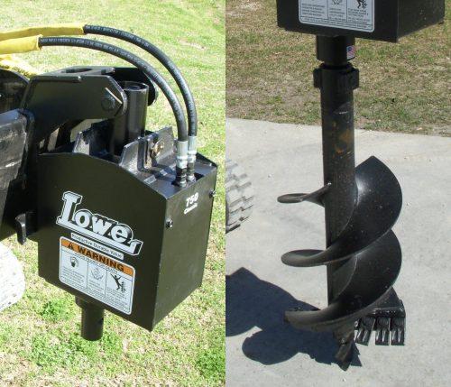 Lowe 750 Auger Drive 1 inch Bit