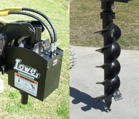 Lowe 750 Auger Drive with 9″ Bit
