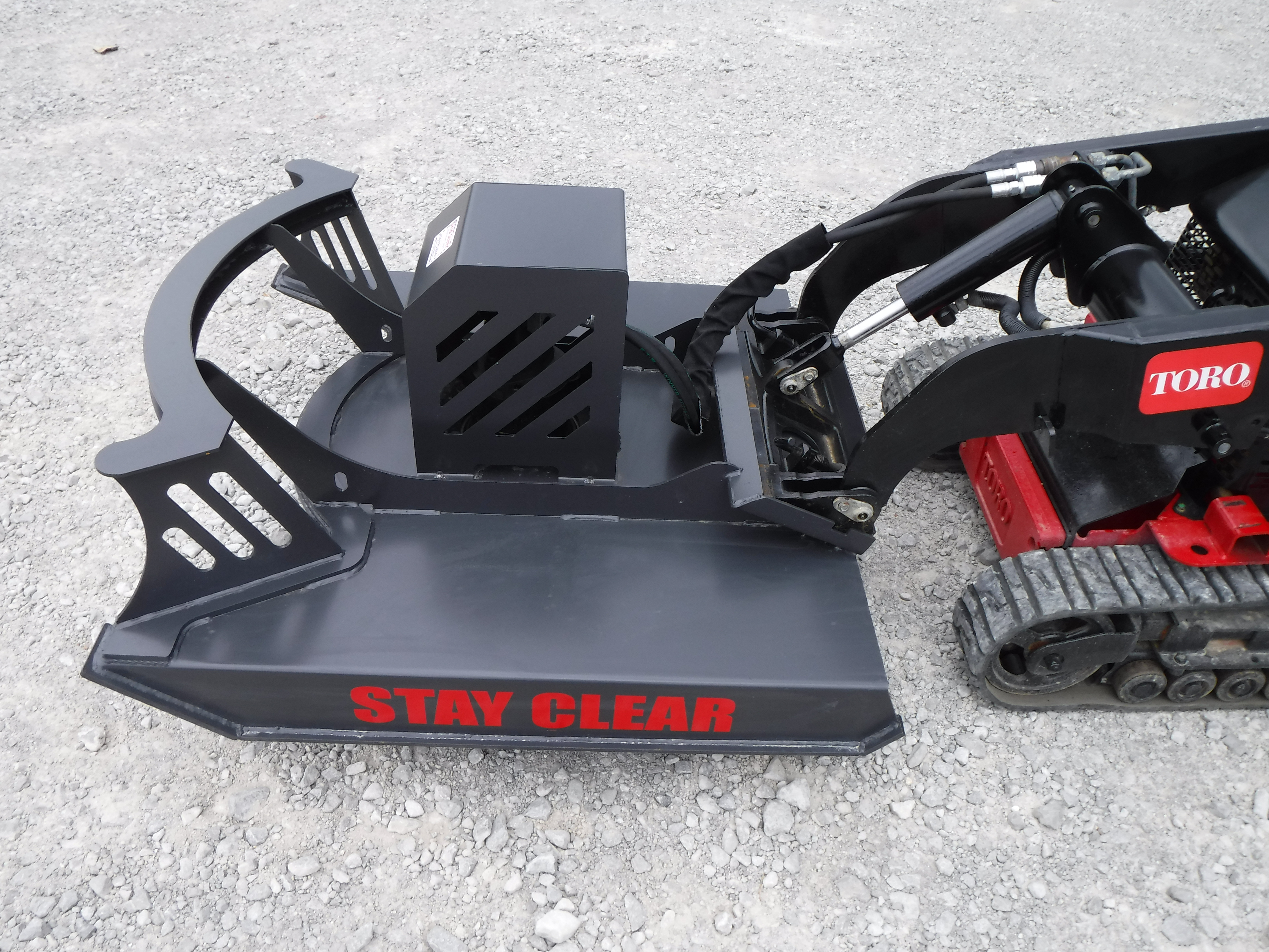 48 Quot Direct Drive Brush Cutter Bush Hog Skid Steer