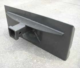 Mini Skid Steer Trailer Hitch Receiver Plate Attachment - Free Shipping