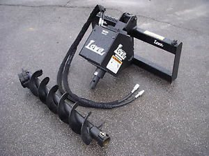 Bobcat Skid Steer Attachment Lowe 1650 Classic Auger Drive 9 inch Bit