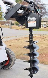 Bobcat Skid Steer Attachment - Lowe 750 Classic Hex Auger - 18