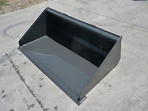 Toro Dingo Mini Skid Steer Attachment 42 inch Low Profile Smooth Bucket