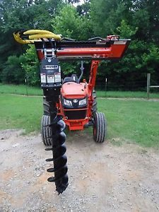 Kubota Tractor Attachment - Danuser EP 10 Hex Auger with 12 inch Bit