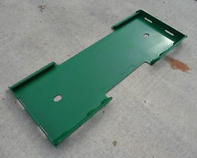 John Deere Weld On Plate for Skid Steer Tractor Loader - Free Shipping