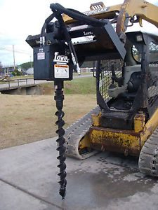 Bobcat Skid Steer Attachment Lowe 750 Hex Classic Auger with 4 Bit