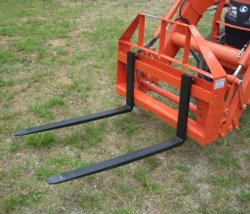Compact Tractor Pallet Fork Frame with 42