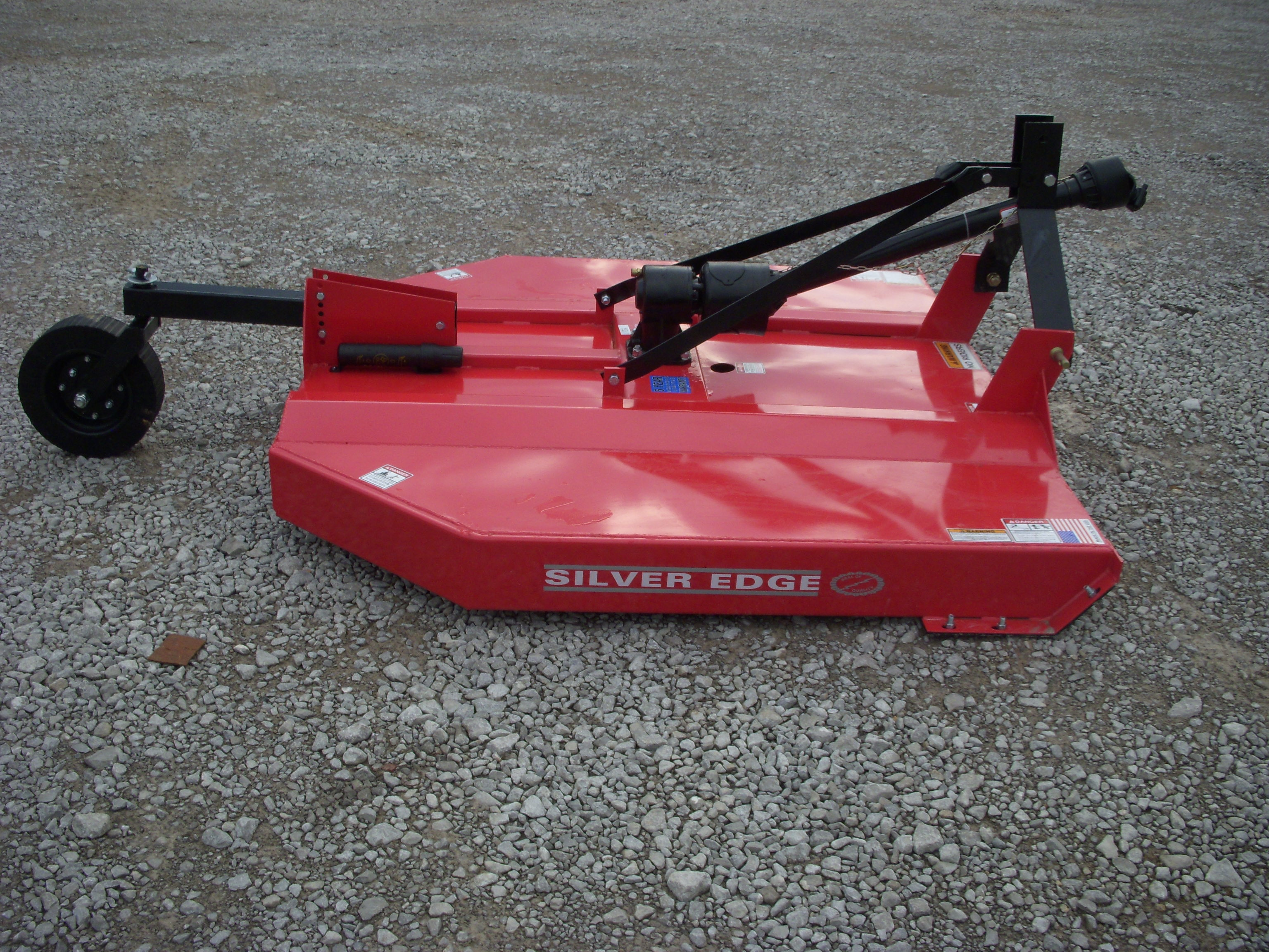 Silver Edge 72 Quot 6 Foot Rotary Cutter Bush Hog Skid Steer