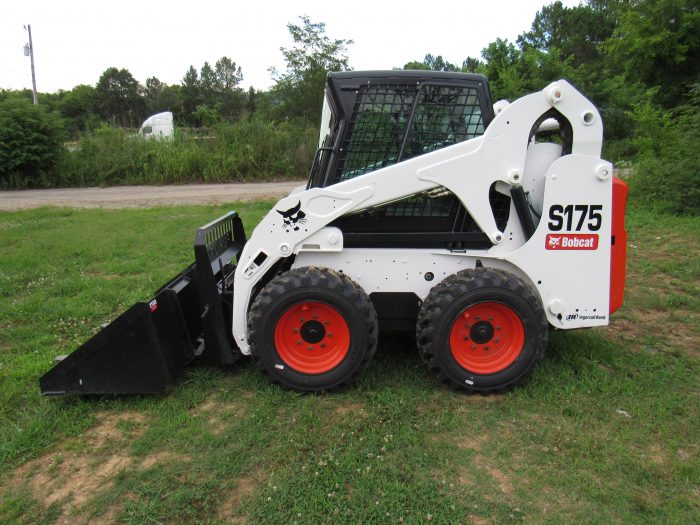 2013 Bobcat S175 Skid Steer Loader w/ Cab Tooth Bucket Pallet Forks - Skid  Steer Attachment Depot